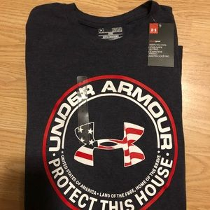 Men's New Under Armour T-Shirt Size Medium
